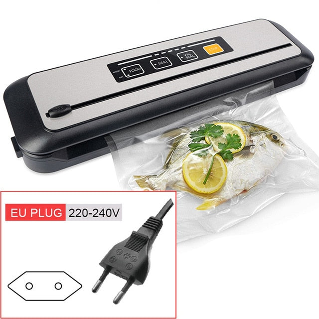 LAIMENG Vacuum Packing Machine Sous Vide Vacuum Sealer For Food Storage New Food Packer Vacuum Bags for Vacuum Packaging S273 - WizWack