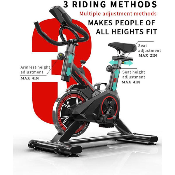 Indoor Exercise Bike Weight Loss Folding Spinning Bike Fitness Equipment Recumbent Cycling Bike Home Gym machine for  training