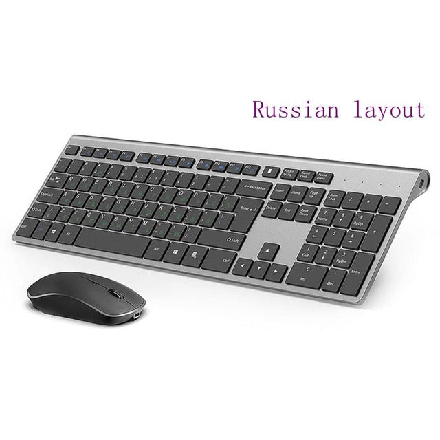 : Wireless keyboard and mouse combination 2.4 ghz EU Layout