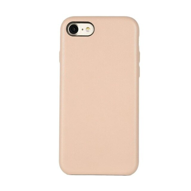 Ultra Thin Mobile Phone Case Cover Lightweight PU Anti-drop Mobile Phone Protective Cover Shell Case for Iphone 7