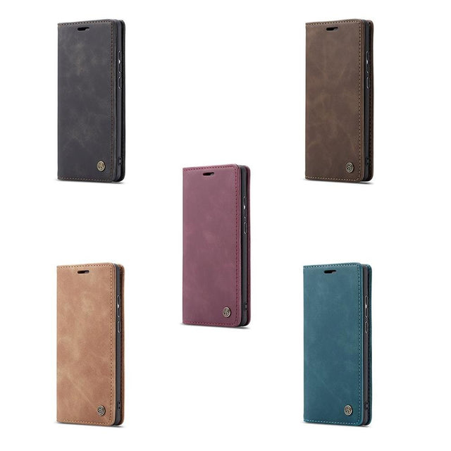 Caseme 013 Ultra-Thin Business Wallet Mobile Phone Case Fashionable Mobile Phone Wallet Holster For Huawei P30 Lite
