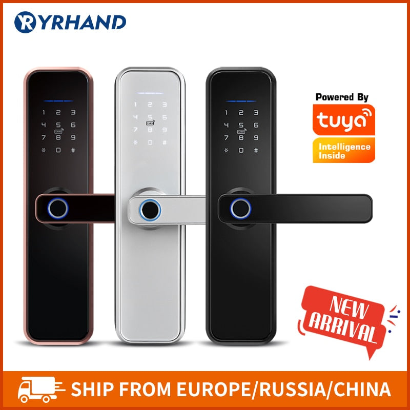 YRHAND Smart Waterproof Tuya Biometric Fingerprint Lock