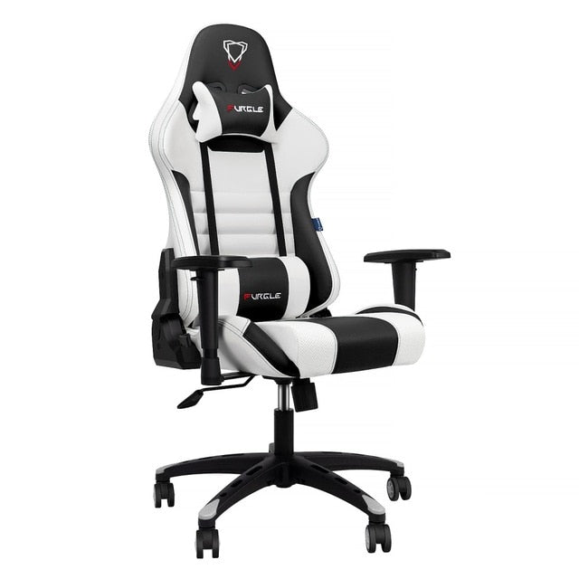 Furgle LOL Gaming Chair Office Chair Swivel Gaming Chair High Back Racing Chair Ergonomic Computer Desk Recliner PU Leather Seat - WizWack