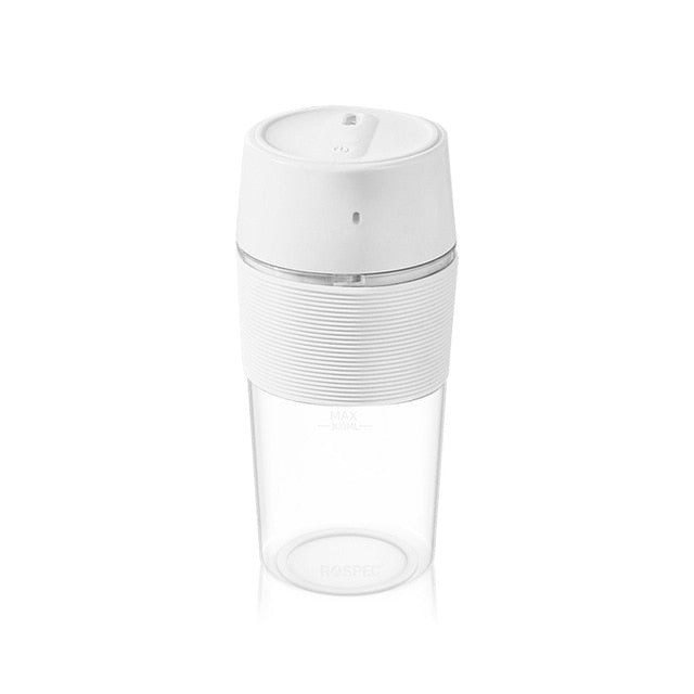 ROSPEC Wireless Electric Blender Portable 7.4V USB Rechargeable Juice Cup Fruit Mixer Cup Smoothie Maker BPA Free Food Processor