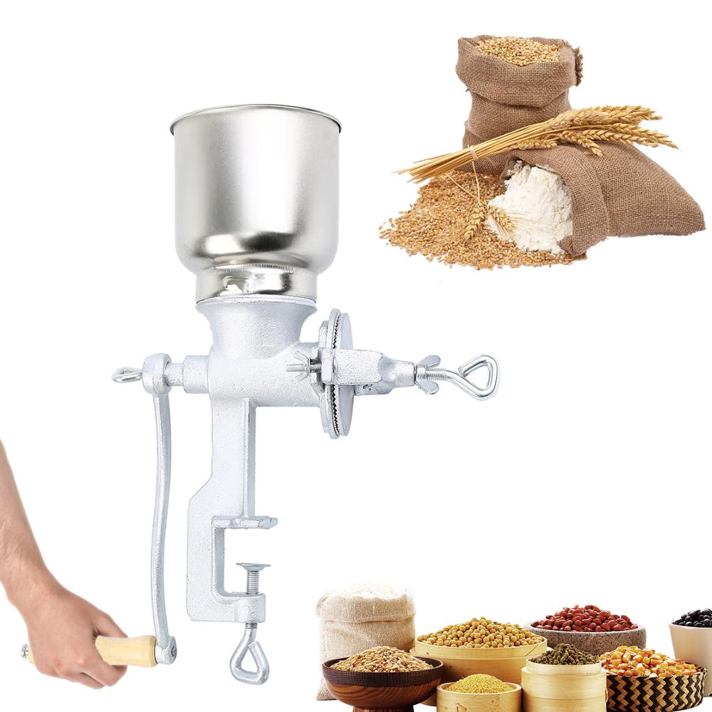 Honhill Manual Grains Mill Spices Hebals Cereals Coffee Dry Food Grinder Grinding Machine Gristmill Home Flour Powder Crusher - WizWack
