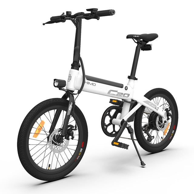 【EU STOCK NO TAX】HIMO C20 Electric Bicycle 250W DC Motor ebike 25km/h 80KM Mileage Outdoor Urban e bike 20 inch Tire