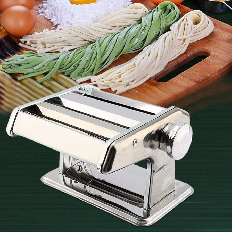 Hand made 3IN1 Stainless Steel Pasta Lasagne Spaghetti Tagliatelle Maker Machine Manual Noodle Makers