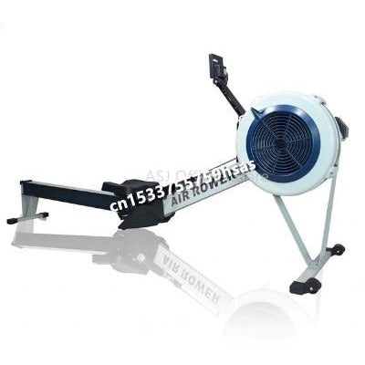 Row Machine Air indoor Rower Rowing Machine Home Fitness Equipment   Wind Resistance Gym Sports