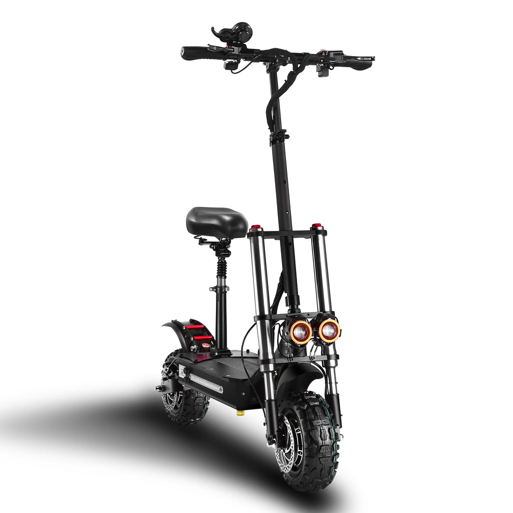 Electric Scooter 85km/h 70km Dual motor &Hydraulic Brake 60V 26ah battery Limousine