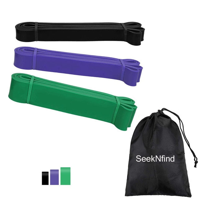 SeekNfind Pull-up Assist Bands 6-color Exercise Resistance Bands Heavy Duty Bands Workout Body Stretching, Power-lifting, Resist