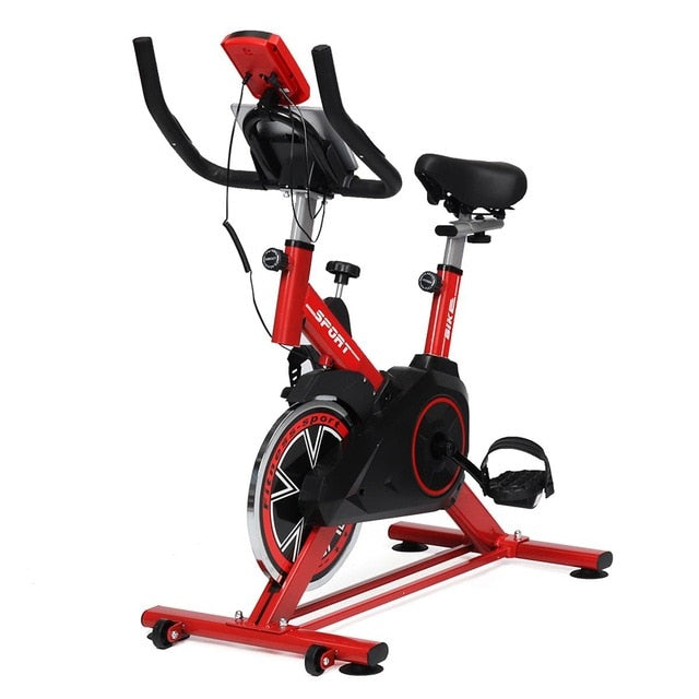 Cardio Cycling Exercise Bike Home Ultra-quiet Indoor Cycling Weight Loss Machine Fitness Gym Training Bicycle Fitness Equipment - WizWack