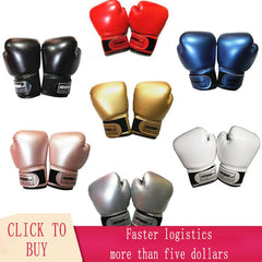 Image of Kick Boxing Gloves Men Women Karate Muay Thai Free Fight MMA Sanda Training Kids Sport Equipment Sportswear Box Accessories New