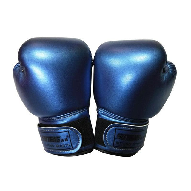 Kick Boxing Gloves Men Women Karate Muay Thai Free Fight MMA Sanda Training Kids Sport Equipment Sportswear Box Accessories New