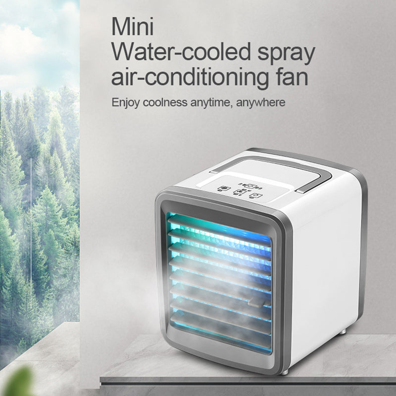 Air Conditioner Air Cooler Mini Fan Portable Air Conditioner For Gaming Air Cooling Desktop Usb Charging Air Conditioning Fan - WizWack