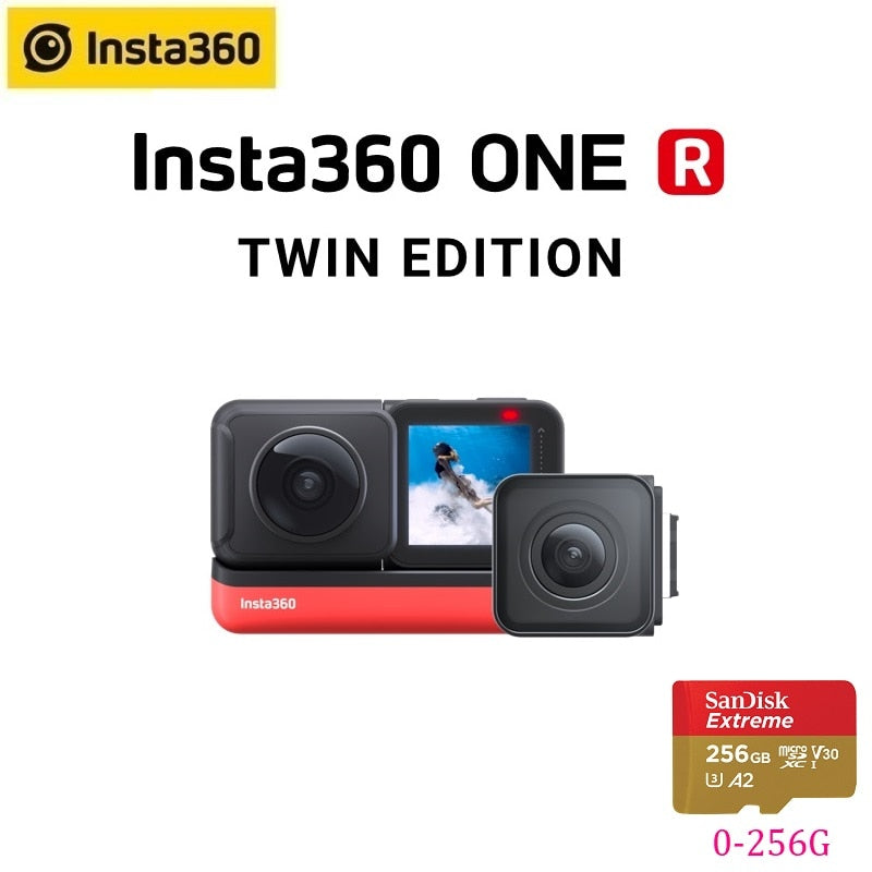 Insta360 ONE R Insta 360 4K 5.7K Action Camera Twin Edition