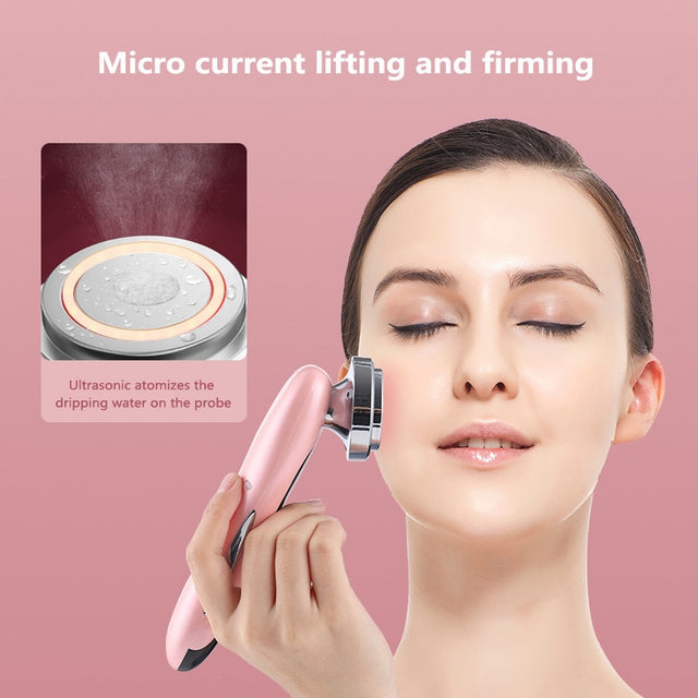 Clean Beauty Machine Face Beauty  Frequency LED Photon Face Skin Rejuvenation Remover Wrinkle Beauty Clean Skin Tool