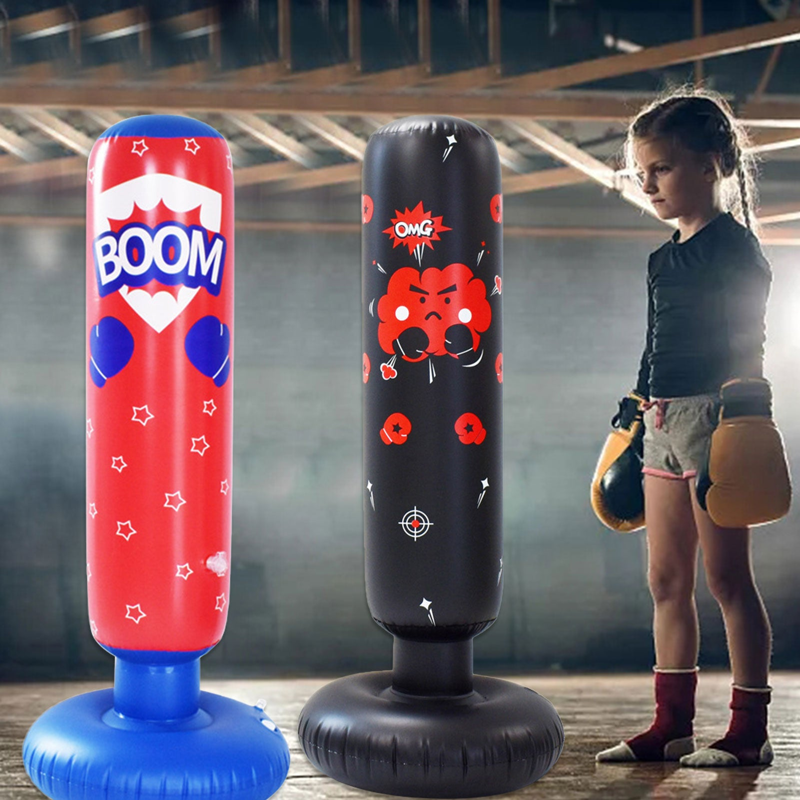 Children Inflatable Punching Bag