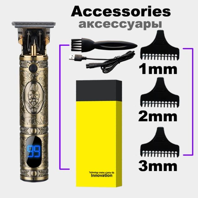 Rechargeable Hair Clipper Electric hair trimmer