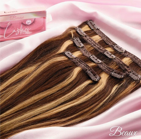10 Set Clip In Extensions