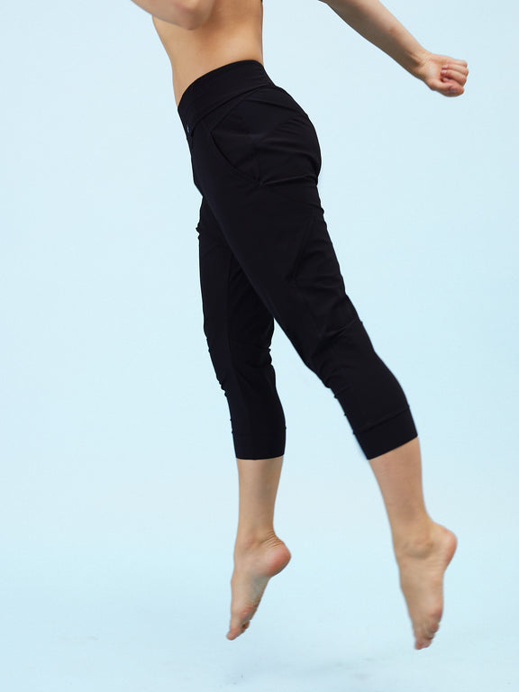 Loose-fit pants - Black