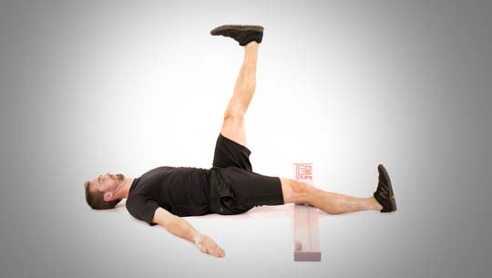 leg raise yoga for hernia