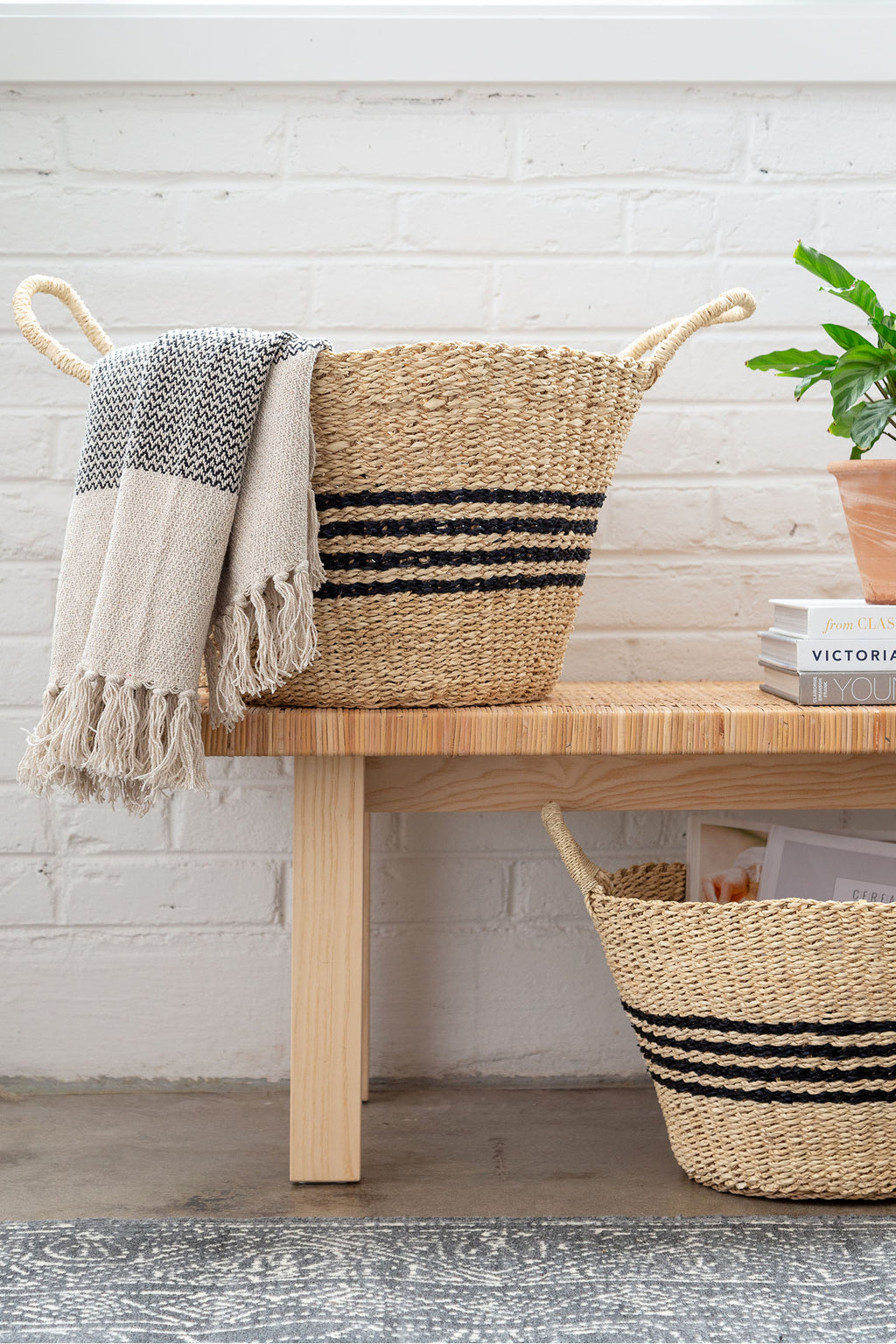 Chatham Striped Baskets
