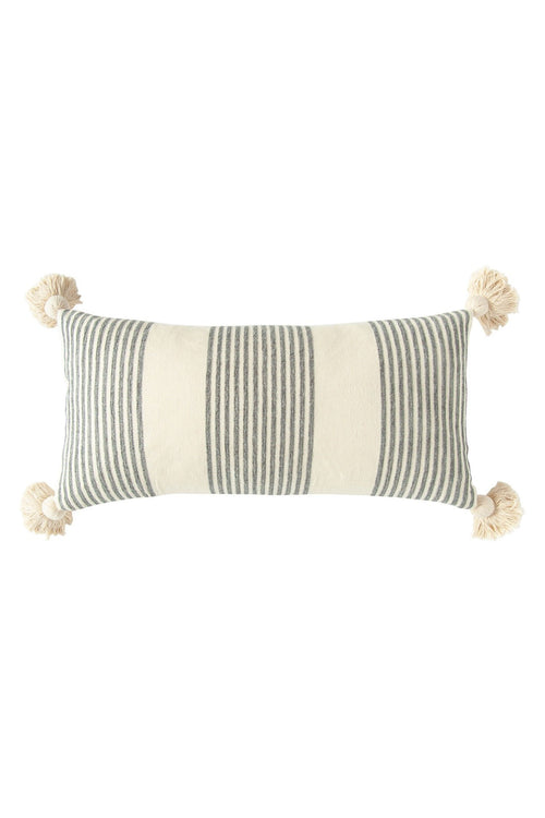 Perry Striped Lumbar Pillow
