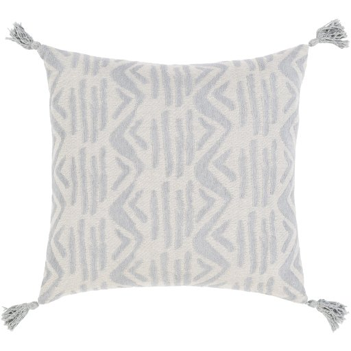 Hadlee Dash Pillow Cover, Gray