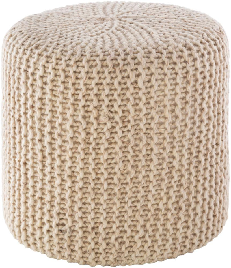 Reese Ottoman, Ivory