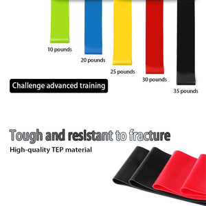 TPE Fitness & Yoga Resistance Pull Ring (2 PCS)