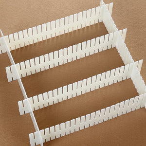 Drawer Divider Plastic Storage Board (4 PCS)