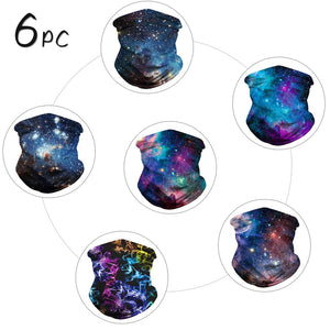 Multi-Functional Dustproof and Breathable Head Wrap