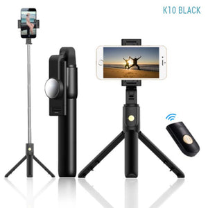 Bluetooth Selfie Stick With Tripod