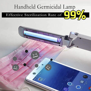 UV Hand Held Folding Small Sterilization Lamp