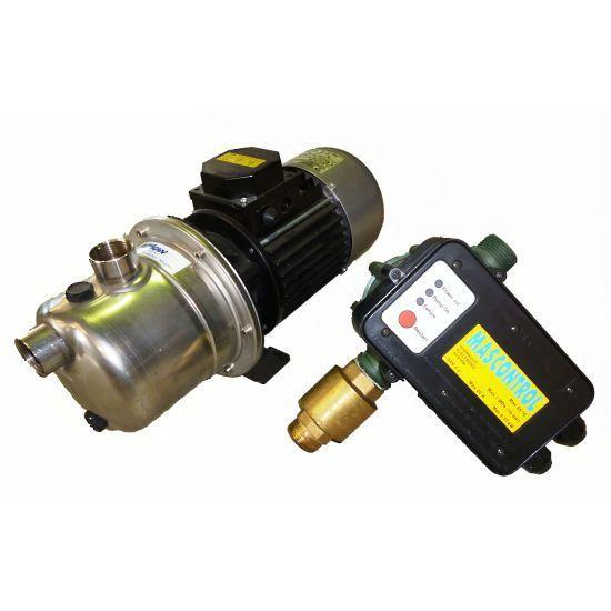 Tellarini jet pump with press controller