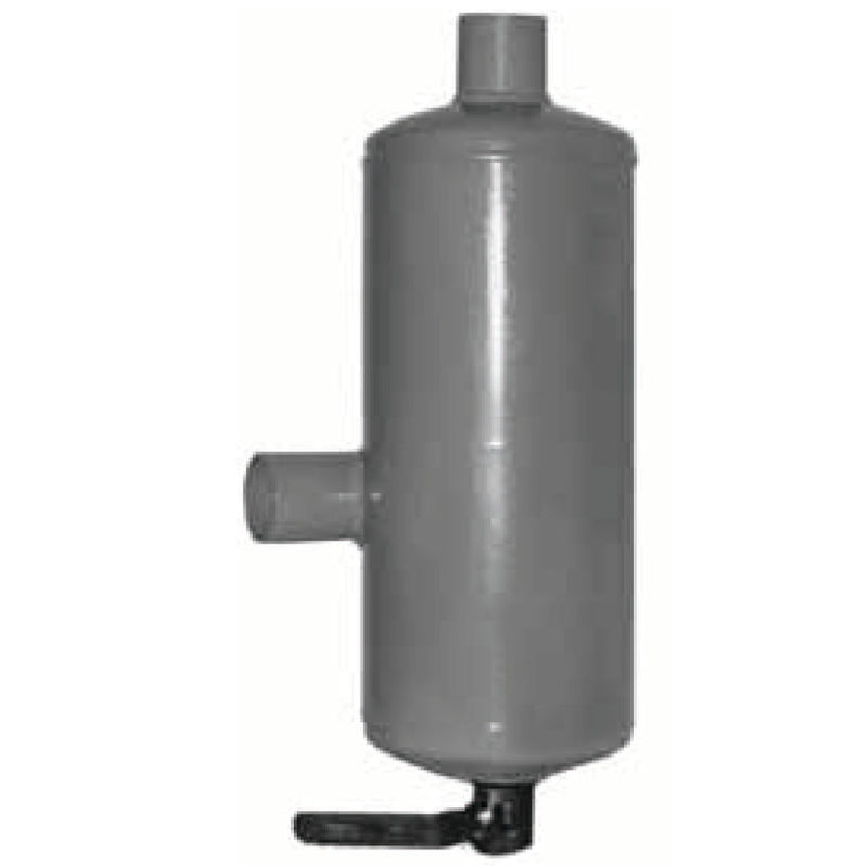 Oil catch muffler and oil separator
