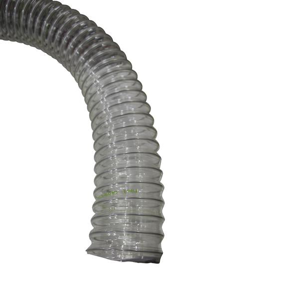 Air extraction ducting - wire reinforced