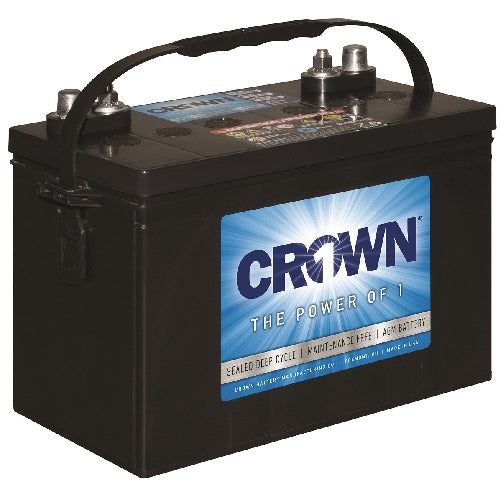 Crown 12 Volt 98 Ah AGM Battery