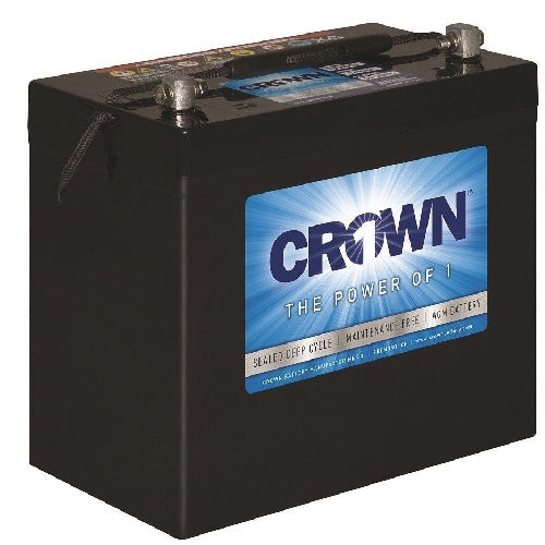 12 Volt 55 Ah AGM Battery