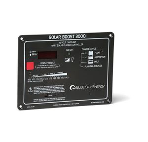 Blue Sky Energy 30A/22A, @12V MPPT charge controller