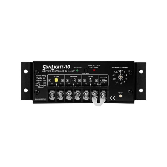 MorningStar SunLight 10A - 20A Charge Controller - Lighting