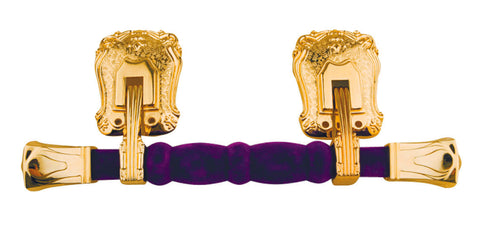 Cranoge Metal Purple Flocked Side Handle