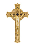 "8"" Plastic Filagree Crucifix"