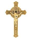 "12"" Plastic Filagree Crucifix"
