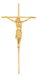 "16"" Metal Slimline Crucifix"