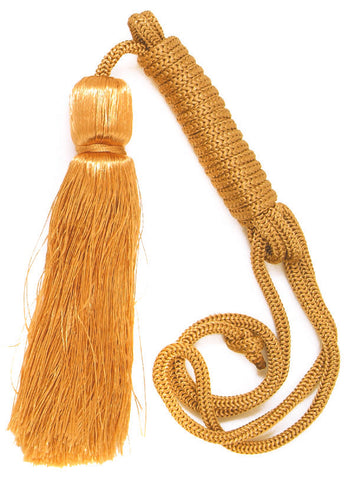 Gold Colour Cord & Tassle Set