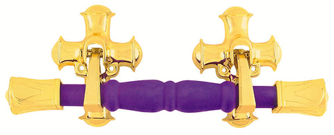 Lagore Purple Flocked Side Handle