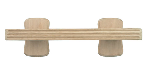Bern Unlacquered Wood Side Handle