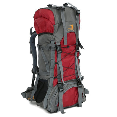 Nylon Water Resistant Outdoor Hiking Backpack 60L - Affordable Travelgear