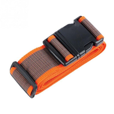 Adjustable Durable Luggage Reinforcement Strap Belt with Secure Coded Lock - Affordable Travelgear